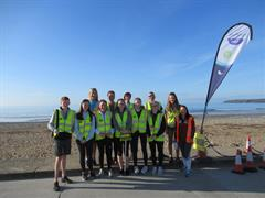 Gaisce volunteers at the Park Run