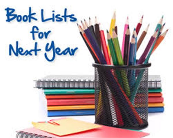 School Booklist 2020/ 2021