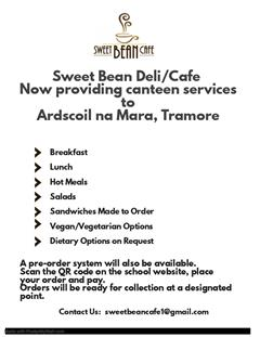 New Canteen Facility In Ardscoil na Mara