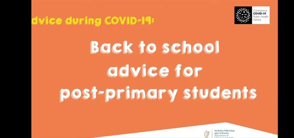 Back to School Advice for Students