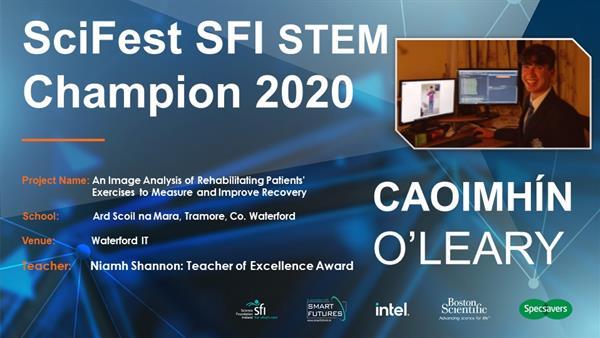 Scifest SFI STEM Champion 2020