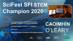 Scifest SFI STEM Champion 2020