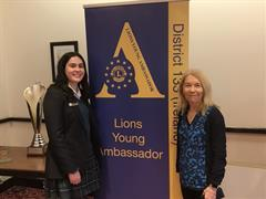 The Lions Club, Young Ambassador Awards