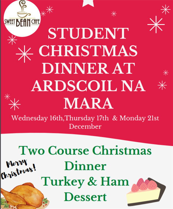 Student Christmas Dinner At Ardscoil Na Mara