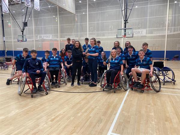 TY - Wheelchair Basketball