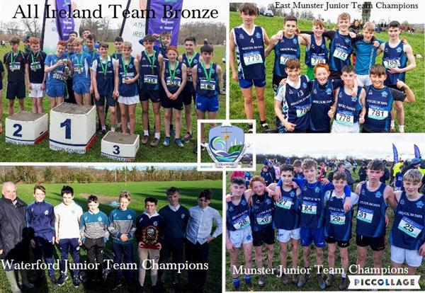 All Ireland Schools Cross Country Bronze